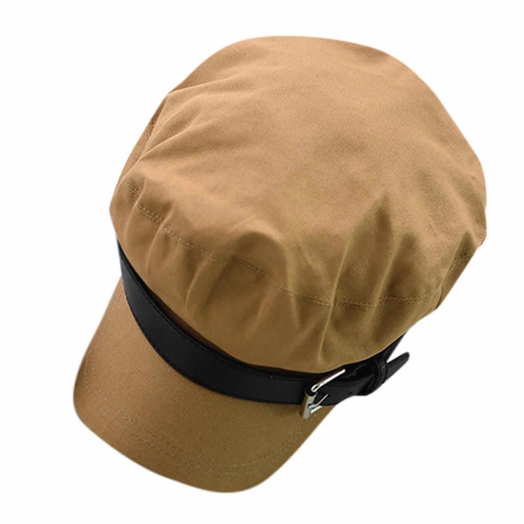 KLV 2019 قبعة قبعة قبعة السيدات الفتيات القطن بيكر الصبي بلغت ذروتها قبعة موزع الصحف قبعة التوصيل المجاني yd4