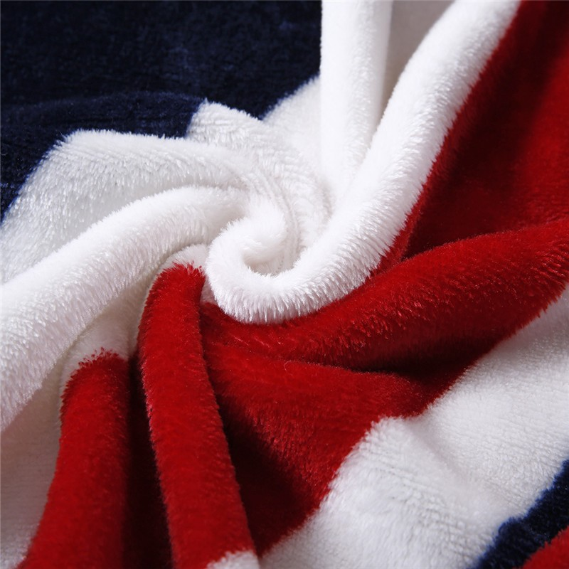 Image 3 - 2020 British Flag/American Flag Multifunction Blankets Soft Fleece Thin Plaid Print Air Sofa Throw Blanket Free Shippingsofa throw blanketthrow blanketblanket soft -