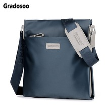 цены Gradosoo Luxury Men Bag Fashion Shoulder Bags Waterproof Oxford  Men Messenger Bag Business Male Crossbody Bag Small Bags HMB673