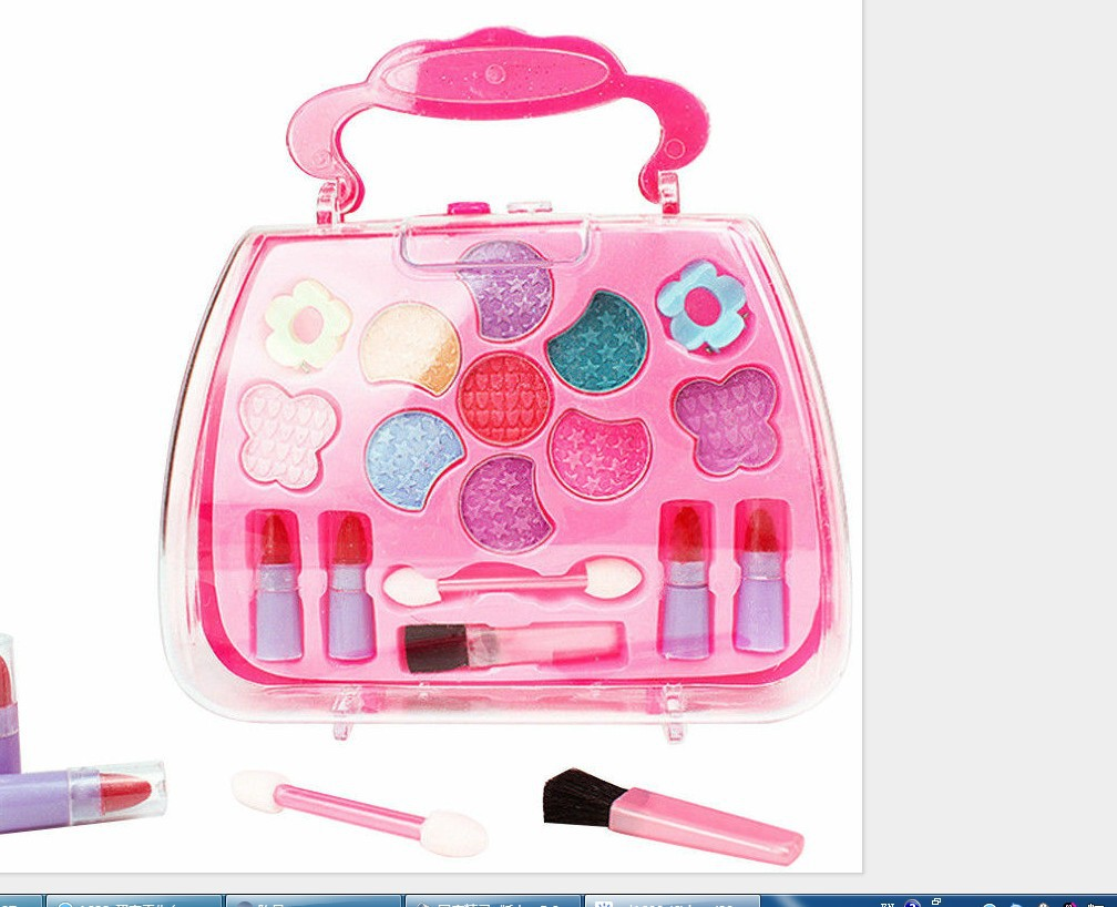 Children's Cosmetic Toy House Cosmetic Handbag Kids Makeup Girls Makeup Set Girls Toys