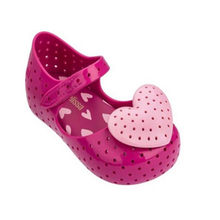 Mini Melissa Girls Jelly Sandals Summer Candy Color Children Girls Shoes Breathable Jelly Shoes Girls Sandals Shoes 14-18CM(China)
