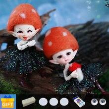 Fairyland realpuki mimi & sira titi 1/13 bjd bonecas resina brinquedos para crianças conjunto completo fl mnf dropshipping 2020 elf boneca