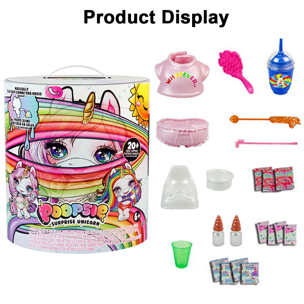 Grande taille Poopsie Slime Licorne 31cm Poopsie Slime Surprise Licorne Squishy soulager le Stress jouet - 3