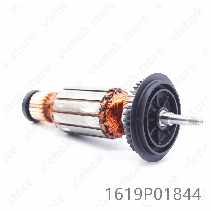 220-240V Armature Rotor For BOSCH GWS6-100 GWS670 GWS600 PWS650-125 PWS600 PWS6 PWS1500 PWS650bare 1619P01844 Power Tool Part