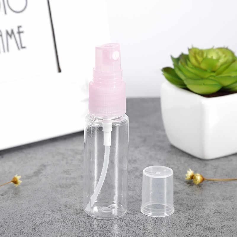 5/10/20 Buah Portabel 20 Ml PET Plastik Transparan Parfum Penyemprot Kosong Botol Semprot Alat Makeup mini Kosong Seragam Kabut