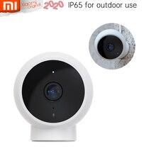 Più recente Xiaomi Mijia Outdoor AI Smart IP Camera IP65 impermeabile antipolvere 1080p FHD 170 2.4GG Wi Fi IR visione notturna fino a 32G