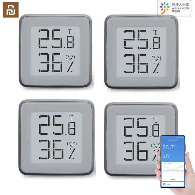 2020 mmc bluetooth compatível higrômetro e ink tela bt2.0 inteligente temperatura umidade sensor miaomiaoce funciona para mijia app