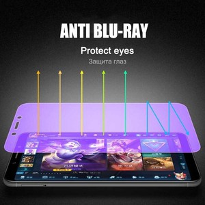 Image 4 - 2Pcs Full Screen Tempered Glass For Xiaomi Redmi 6 6A Screen Protector 9H Anti Blu ray Tempered Glass For Redmi 6 6A glass flim