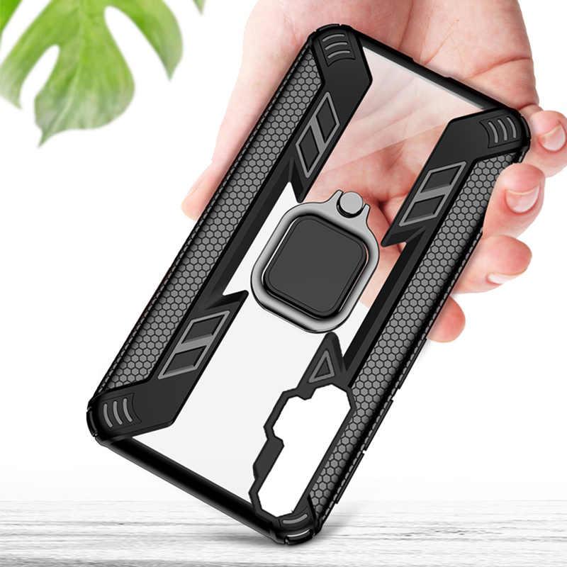 Keysion Tahan Guncangan Case untuk Kehormatan 20 Pro 10i 10 Lite 8X 8A 5T Ponsel Cover untuk HUAWEI Mate 30 pro P40 P30 Lite Y6 Y7 Y9 2019 Y9S
