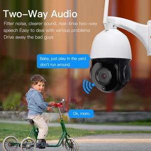 Image 3 - 30X التكبير PTZ الأمن كاميرا IP 1080P HD كاميرا لاسلكية واي فاي في الهواء الطلق مقاوم للماء كشف الحركة الأشعة تحت الحمراء للرؤية الليلية Onvif CCTV كام