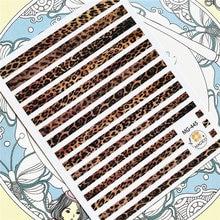 Mg 445 mg 103 2 32 леопардовым узором Разноцветные длинные линии