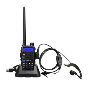 Image 2 - RETEVIS RT5R اسلكية تخاطب USB VHF UHF ثنائي النطاق هام راديو FM 10 قطعة اتجاهين راديو التواصل ل Baofeng UV 5R UV5R RT 5R