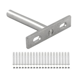10 sztuk pływające wsporniki ukryte zamontować niewidoczne niewidomych półki obsługuje wsporniki do ściany domu DIY drewniane półki tanie i dobre opinie NONE CN (pochodzenie) Metal Metalworking