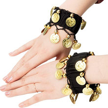 Oppohere 1 пара модные браслеты на запястье для танца живота