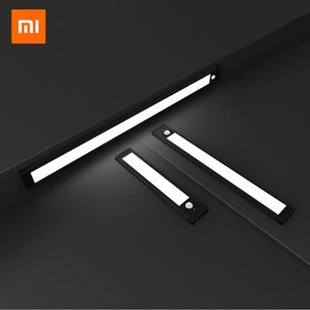 Xiaomi Night Lights Induction Cordless Wall Lamp Rechargeable Motion Senso Lamps LED Lighting Indoor Corridor Bedroom Wardrobe