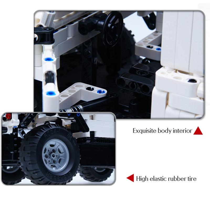 Cada Defender Remote Control Car, 533Pcs