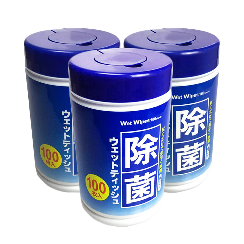 300Pcs/Lot Clean Wipe Screen Disinfection Wet Wipes Household Wipes Disposable Alcohol Antiseptic Cleaning Wipes