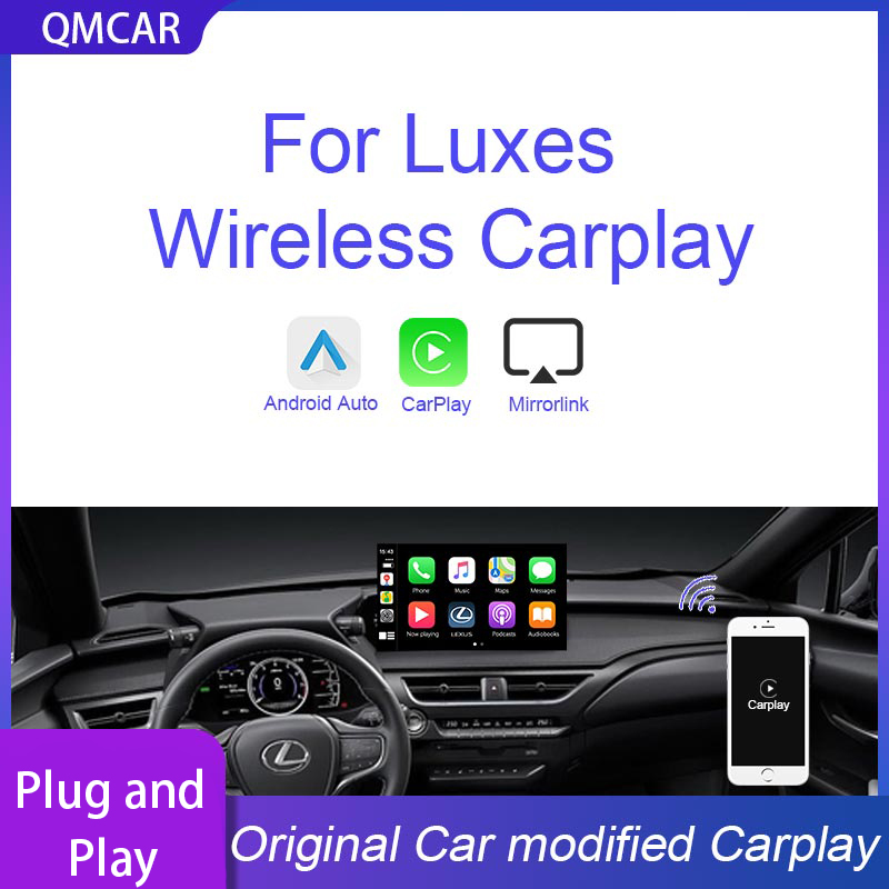 QMCAR Wireless Apple CarPlay for 2010-2018 For Lexus Carplay Android Auto /Carplay Support Mirrorlink Original modified Carplay image