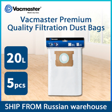 Vacmaster 20L Filtration Dust Bags Vacuum Cleaner Bags for Vacuum  Cleaner Accessories 5PCS/Lot