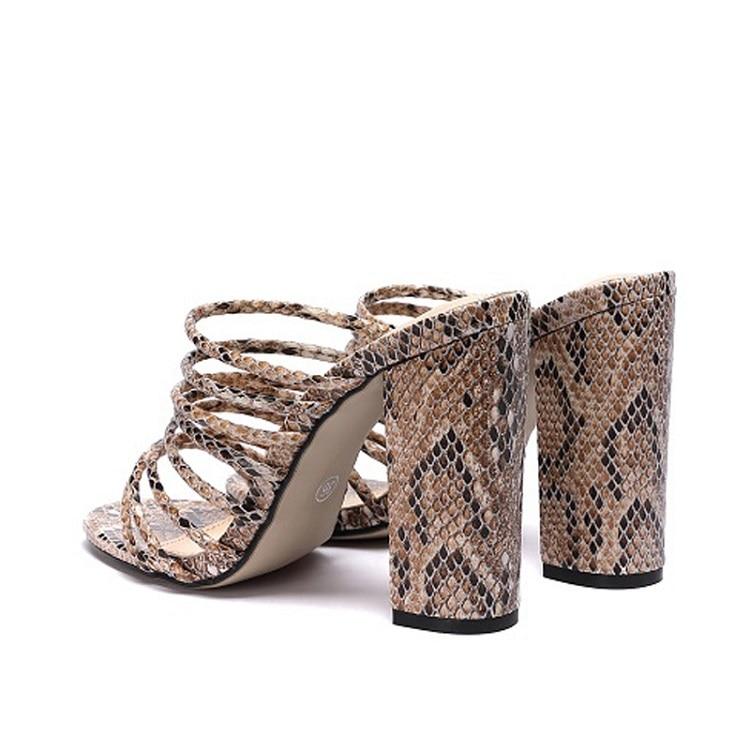 Women Block Heel slippers Mules Pumps