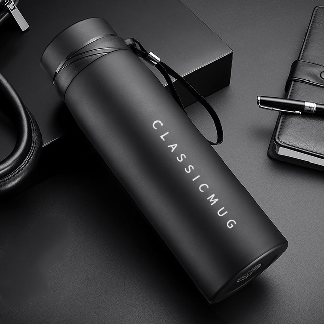 1100m/500ml Portable Double Stainless Steel Vacuum Flask Coffee Tea Thermos Mug Sport Travel Mug Large Capacity Thermocup 3
