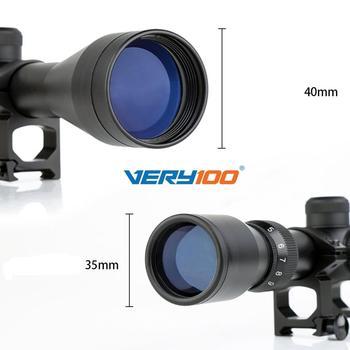 Nowy 3-9x40 Mil Dot Zoom Sniper Karabin Pneumatyczny Zakres Teleskopowy Optyka Z 20MM Do Montażu Na Szynie Do Polowania