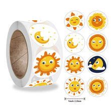50-500 pces smiley face adesivo para crianças recompensa etiqueta pontos amarelos etiquetas feliz sorriso rosto adesivo crianças brinquedos