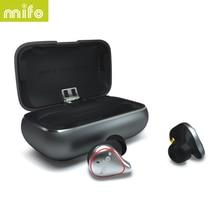 سماعات لاسلكية بلوتوث من Mifo o5 pro TWS سماعات بلوتوث متوازنة سماعات رياضية ستيريو صوت هاي فاي سماعات أذن