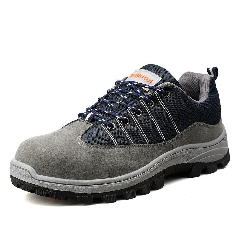 Chaussures d'assurance du travail pour hommes chaussures de sécurité Anti-crevaison en plein air pour femmes
