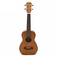 4 Strings Mahogany Guitar 23 Inch Soprano Ukulele Beginner Rosewood Fretboard Bridge For Musical Stringed Instruments soprano ukulele 21inch mahogany wood beginner 4 strings mini guitar rosewood fingerboard neck music instrument