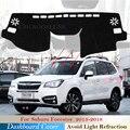 Защитная накладка на приборную панель для Subaru Forester 2013 ~ 2018 автомобильные аксессуары приборная панель солнцезащитный козырек анти-УФ ковер SG...