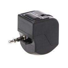 Adaptateur de casque Audio Jack 3.5mm avec contrôle du Volume du micro pour PlayStation 4 PS4