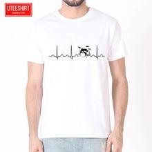 Men Drums Drummer Heartbeat Women Harajuku Short Sleeves T shirt Unisex Skateboard Tshirt Clothes Streewear