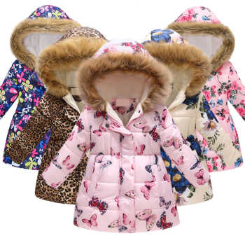35 Colors Winter Children Coat Baby Girl&Boys Warm Jacket Kids Fashion Printed Outerwear Children's Christmas Costume For Kids - DISCOUNT ITEM  29% OFF All Category