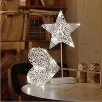 Night light Lamp moon lamp star lights room decoration net red light little fairy bulb string lights dormitory romantic layout