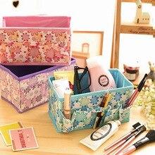 Складная коробка для хранения, фиксированная коробка для хранения косметики, складной фиксированный контейнер для хранения, домашняя коллекция, Organizador Maquillaje