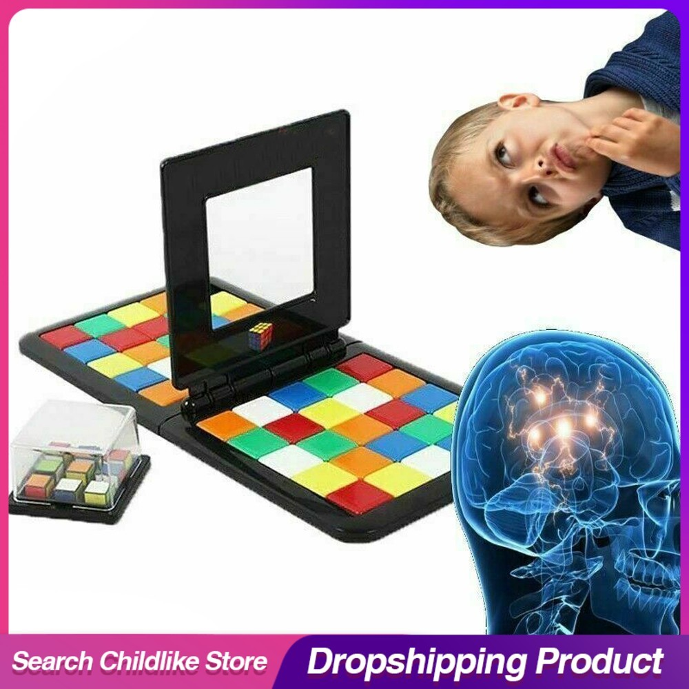Magic Block Game 3D Puzzle Race Cube Board Game Magic Cube Education Parent-child Activity Board Education Toy