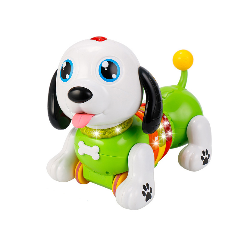 Yi Er Yi Yier Children Intelligent Early Childhood Toy Dog Remote Control Electric Robot Dog Boys And Girls Educational Toy