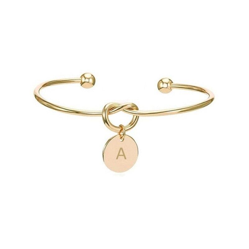 Подарки на день Святого Валентина, начальный Романтический браслет, свадебный душ подружки невесты, сувенир, вечерние подарки для подружки невесты - Габаритные размеры: Glod