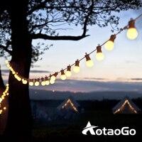 Guirnalda de luces LED G50 con forma de globo, guirnalda de luces solares para fiestas, vacaciones, jardín, decoraciones de Navidad, hogar, exterior, calle, boda