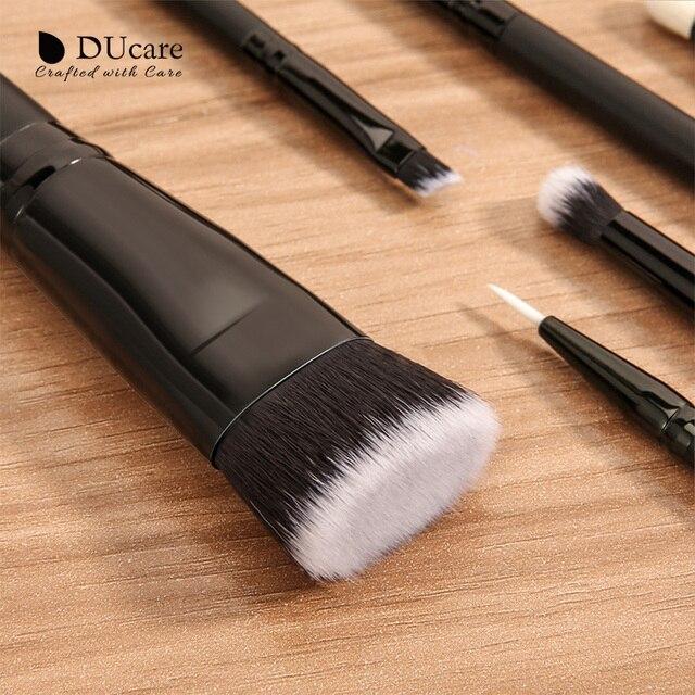 DUcare 20PCS  Professional Make up Brushes Powder Foundation Eyeshadow MakeUp Brushes Set Natural Goat Hair Cosmetics Brush Set 3