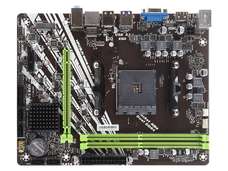NEW desktop Motherboard MAXSUN A320M-M.2 VH FOR AMD AM4 Micro ATX DDR4 PC mainboard