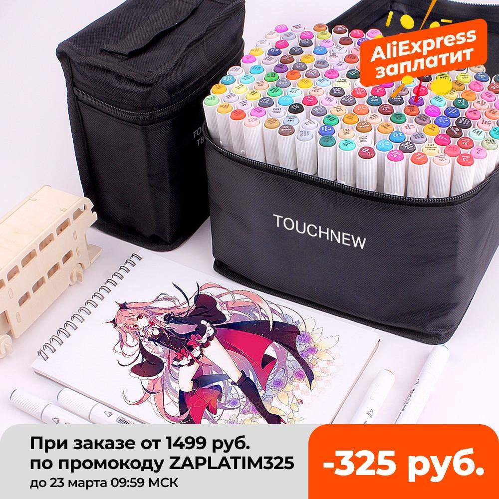 TOUCHNEW T8 Skizzieren Marker Zeichnung Pen-Set mit Dual Tip Pinsel Stifte für Manga Schule Farbe Stift