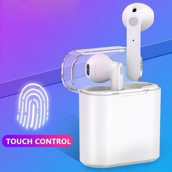 Wireless Bluetooth Earphone Touch Control TWS Headset HIFI Sound Noise Reduction Earbuds with Microphone for IOS Android Phone