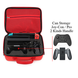 Image 5 - Portable EVA Storage Bag Marios Shell Carrying Case For Nintend Switch Accessories Water resistent Protective Case Cover Box