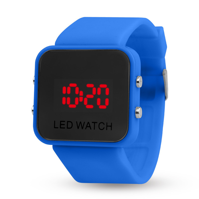 Спортивные цифровые часы, светодиодные детские часы, детские наручные часы, студенческие часы для мальчиков и девочек, наручные часы с