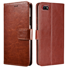 For OPPO Realme C2 Funda OPPO A1K Case Phone Cover RMX1941 CPH1923 360 Protection Wallet for Funda Realme C2 Case OPPO A1 K C 2 cheap VSYTERECO CN(Origin) Flip Case Dirt-resistant With Card Pocket Plain Kickstand Anti-knock Soft Silicone PU Leather Hand Strap