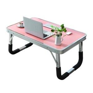 Image 2 - Standing Tavolo Stand Bed Tray Tafelkleed Para Notebook Pliante Escritorio Mueble Tablo Mesa Laptop Study Table Computer Desk