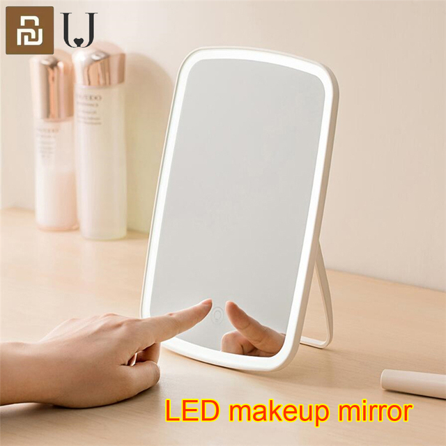 Youpin LED makeup mirror Touch sensitive control LED natural light fill adjustable angle Brightness lights long battery