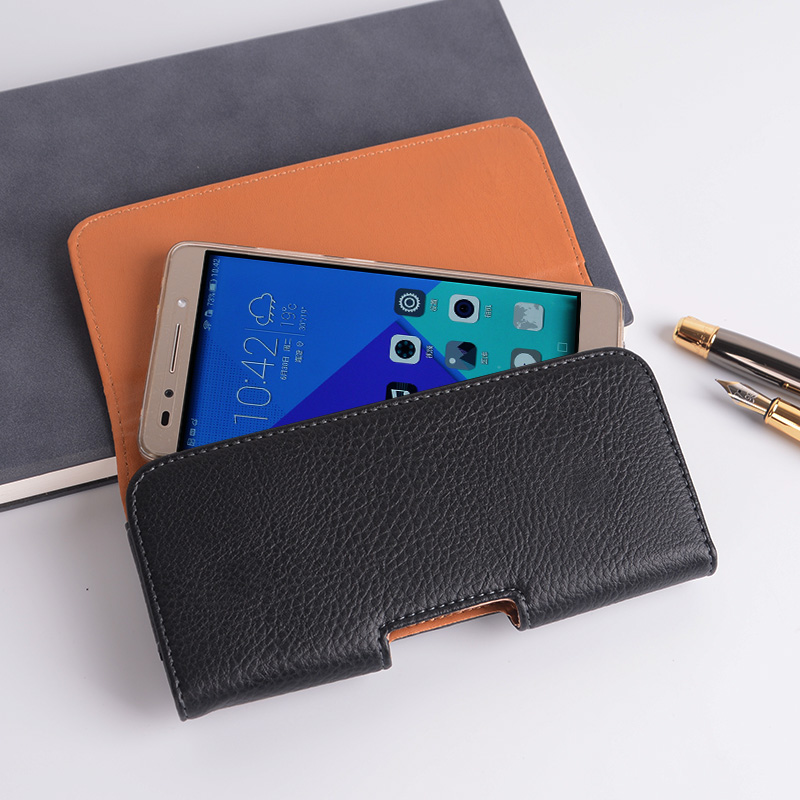 Universal Casual Leather Phone Pouch with Holster Bag Belt Good Protection For Phones 3